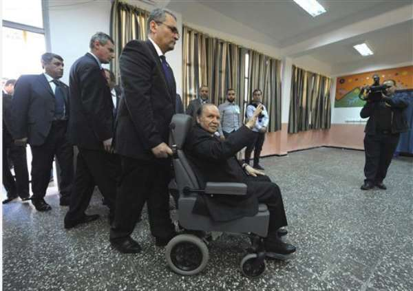 Algerian President Bouteflika Convicted Of Theft In 1983