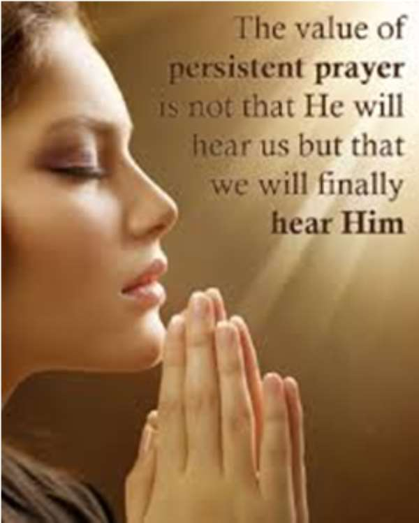Count Your Blessings In Prayer