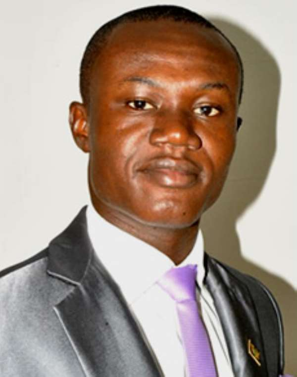 Paul Frimpong, The Author