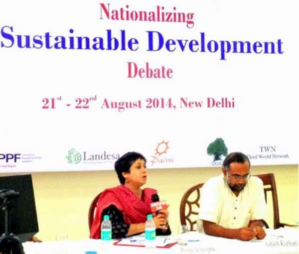 'Watch Your Step': Negotiations Around Post-2015 Development Agenda