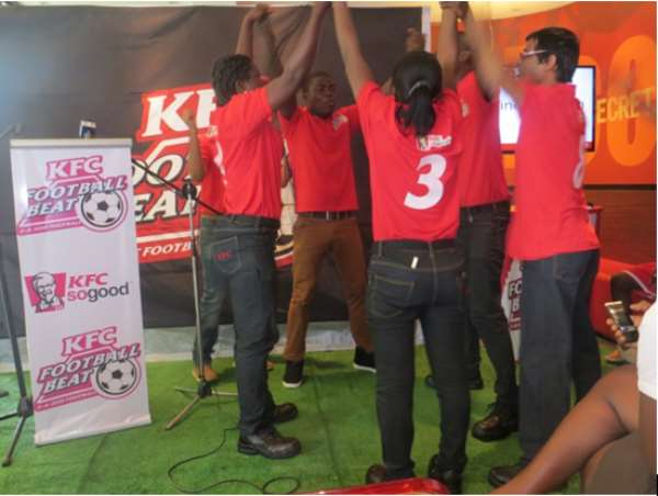 KFC Football Beat Launched In Ghana