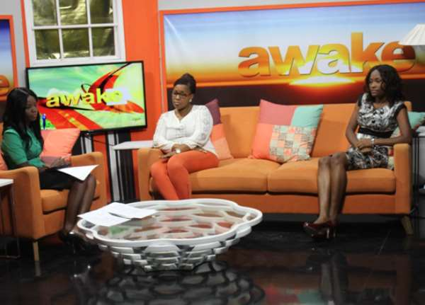 From Left To Right: Beatrice Baiden (Show Host), Nikki Boa-Amponsem(Beauty Expert), Dr. Charity Owusu-Asare (Dermatologist)