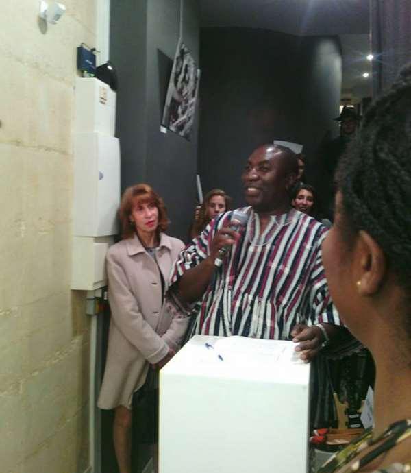 GHACIF/FEGHADE President Speaks To Fashion Press In Paris