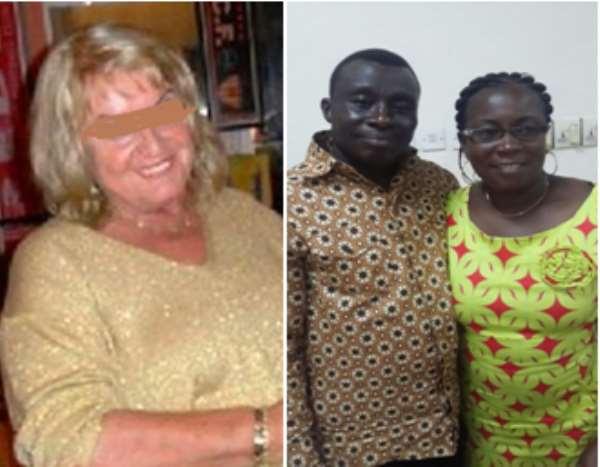 Victim Madam Dagmar & Fraudster's Family George And Grace Yeboah