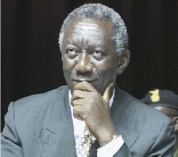 Hearts of Oak petitions President Kufuor