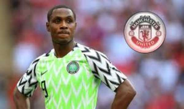 Odion Ighalo: Manchester United Sign Nigeria Striker On Loan Until ENd If Season
