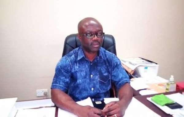 PENSEC headmaster Mr. Peter Atta Gyamfi