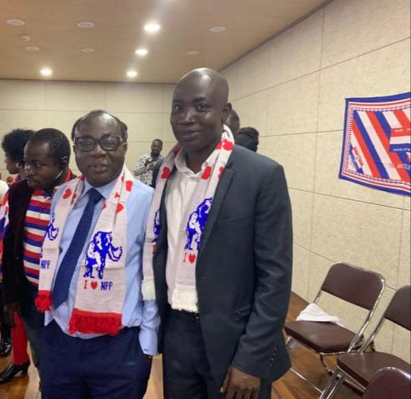NPP Asia caucus first vice chairman congratulates Akufo-Addo on re-election
