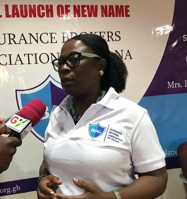 President of IBAG, Mrs. Lena Adu-Kofi