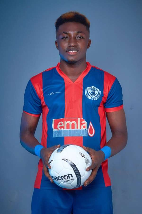 Legon Cities sign Richmond Antwi on a three year deal