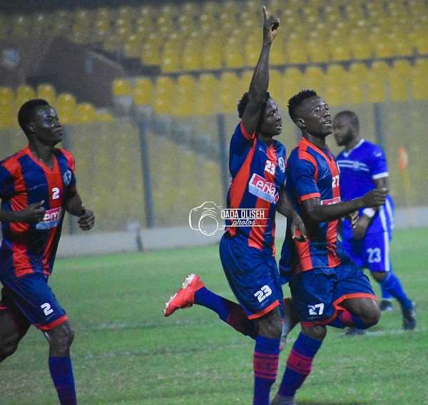 GPL Match Week 10: Legon Cities FC Draw 1-1 With Great Olympics