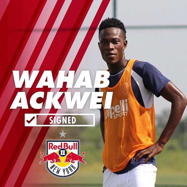 OFFICIAL... Former Inter Allies Defender Wahab Ackwei Joins New York Red Bulls
