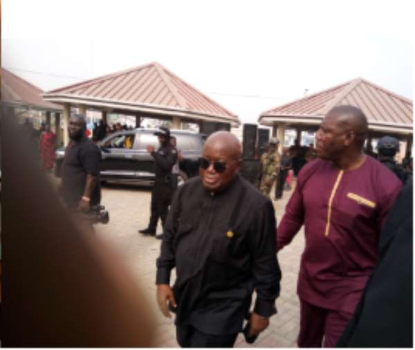 Akufo-Addo Mourns With NPP Germany Chairman