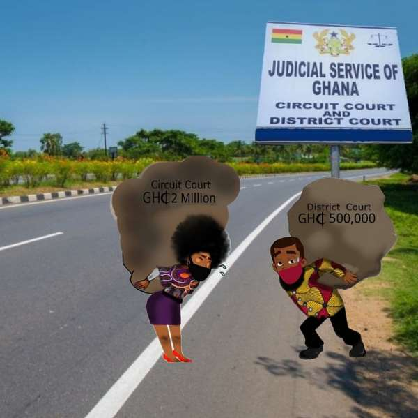 The enhanced monetary value jurisdiction of the District and Circuit Courts in Ghana: How burdensome; how effective?
