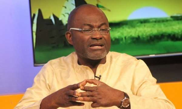 Hon. Kennedy Agyapong, M P of Assin North Constituency, photo credit: Media Ghana