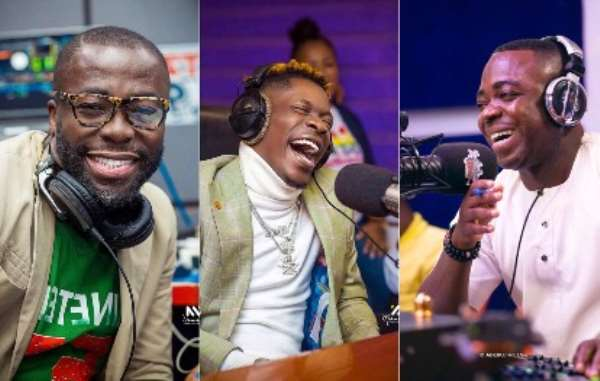 Stop inviting 'foolish' panelists to your show – Shatta Wale blasts Andy Dosty and Sammy Flex