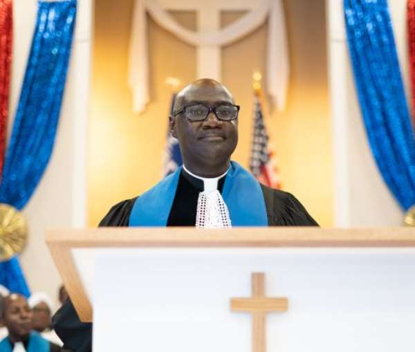 The Rev. Sam Okyere-Mireku, The District Minister-Washington DC District