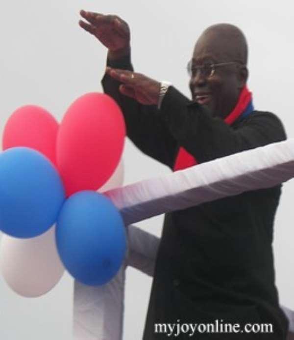 Mills has failed Ghanaians -Akufo-Addo