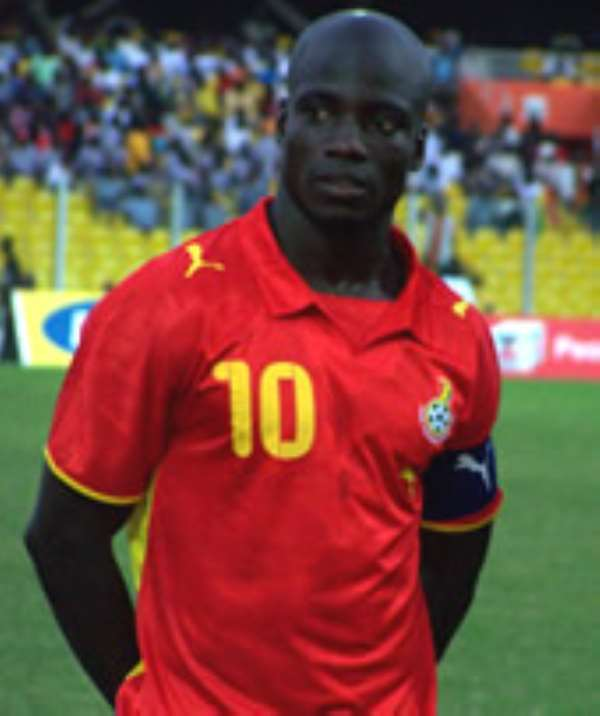 Appiah pulls out of Mali game