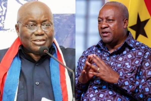 Akufo-Addo Describes Mahama As Double Standard Politician