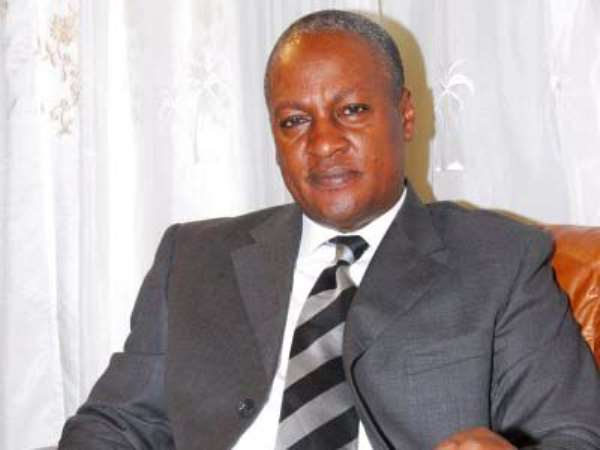 John Mahama Wisely Advises Himself