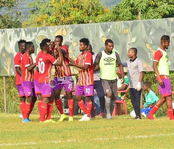 Kofi Kordzi Strikes To Inspire Hearts Of Oak To Beat Dreams FC