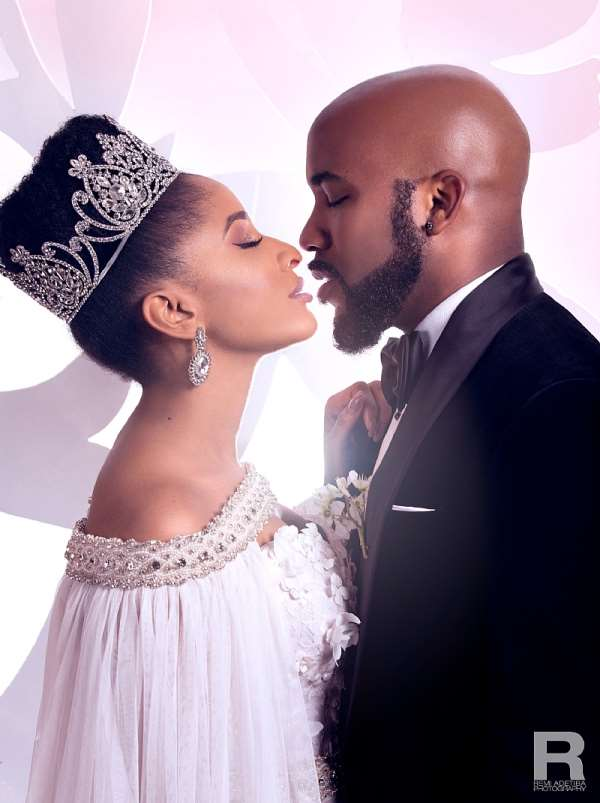 Singer Banky W, wife welcomes new baby