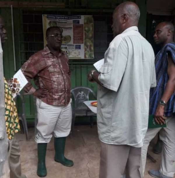 Ghana not food secured – Farmer groups to Afriyie Akoto