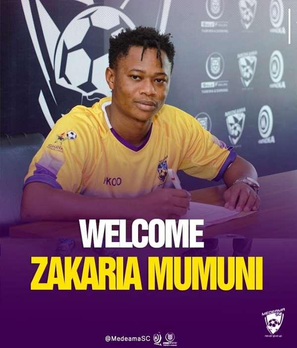 OFFICIAL: Medeama SC seal signing of attacker Zakaria Mumuni