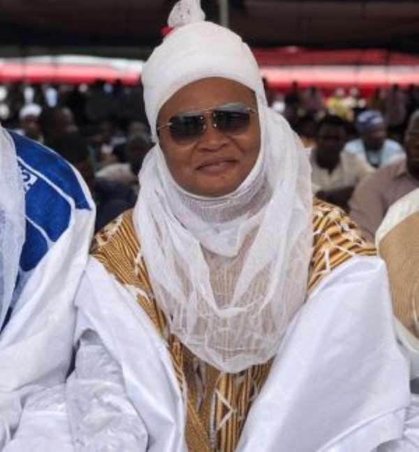 The Talba of Greater Accra Hausa Chief, Sarki Alhaji Issaka Nettey