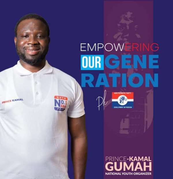 Prince Kamal declares selfless youth empowerment as the next NPP Youth Organizer