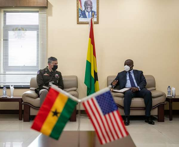 AFRICOM Commander visit to Ghana highlights U.S. support for joint security cooperation