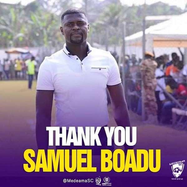 Confirmed: Samuel Boadu part ways with Medeama SC