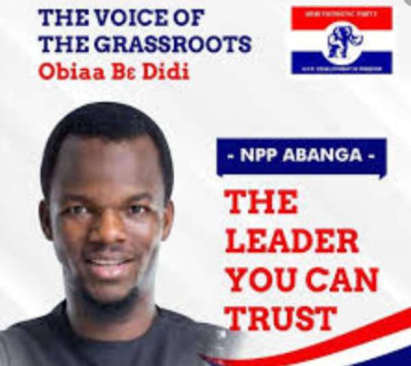 New Patriotic Party's National Youth Organiser race: Abanga in Focus