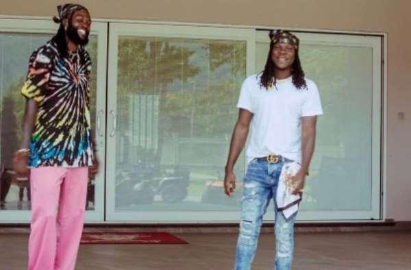Stonebwoy Surprises Adebayor with breathtaking performance on his birthday [Video]