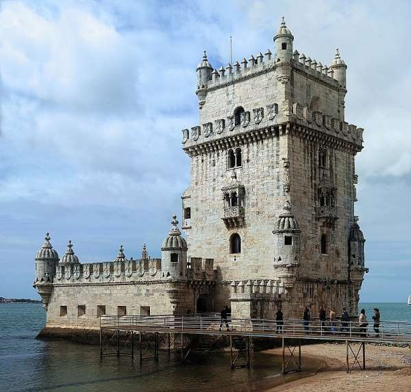 Belem Tower(Torre de Belém) from where the discovery journeys started. (3)