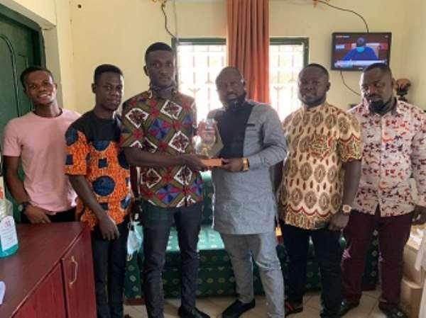 Election 2020: Ashanti NPP volunteer group honours its patron Bright Botchway