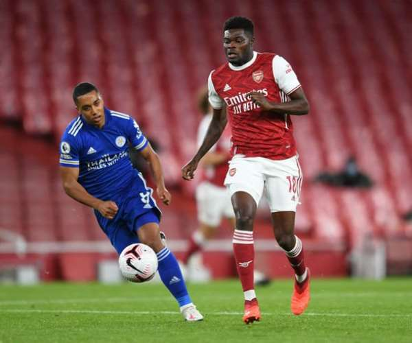 Substitute Thomas Partey earns impressive rating in Arsenal 3-1 triumph at Leicester