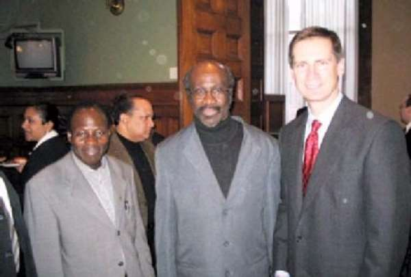 McGuinty holds reception for the Ethnic Press