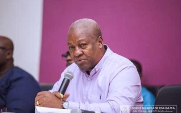 "Ex-President Mahama-Led NDC's Politics Of ""Chooboi, Eii!"""