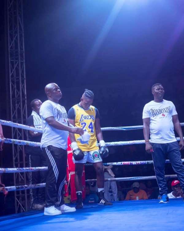 Ghanaian Boxer Prince Nartey Dedicates Victory To Kobe Bryant