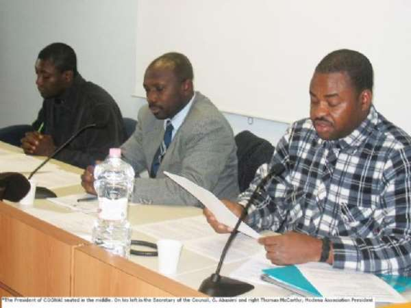 Ghanaians  In  Italy  Threaten  Demo   ....