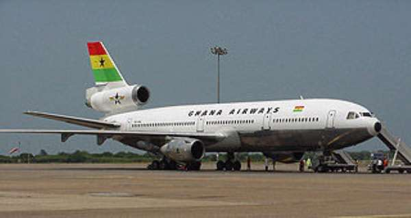 Ghana Airways flights suspended in U.S.