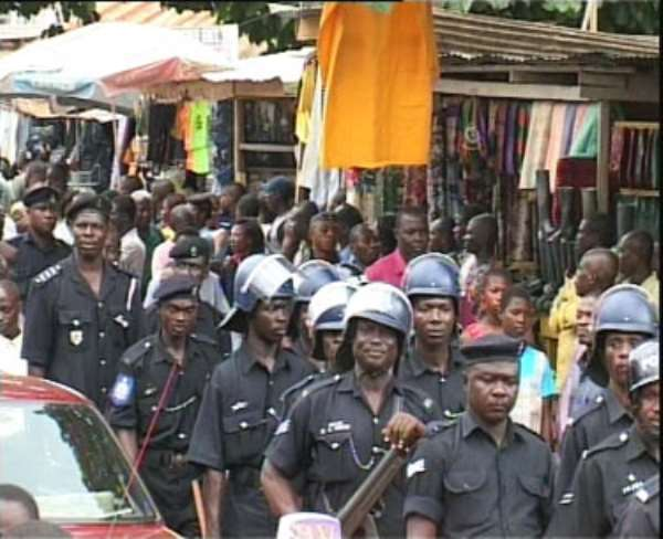 Police Deployed To Accra Radio Stations