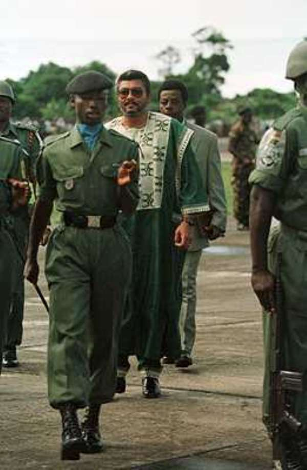 Comparing Babangida to Rawlings Era