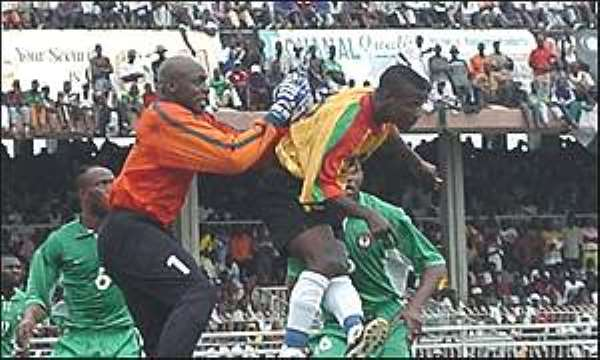 Nigeria-Ghana Friendship Games Return