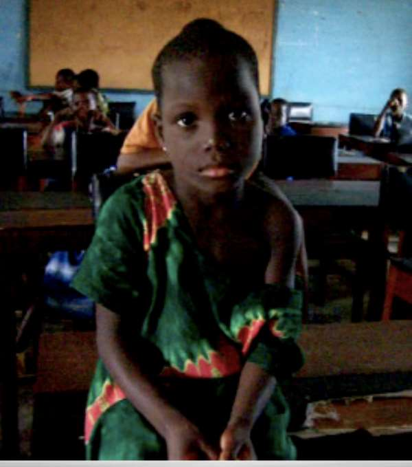 5-year old girl rescued from slavery