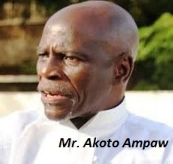 Akoto Ampaw Is Special Prosecutor