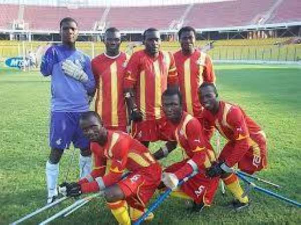 Amputee Football Chairman Commends Adwoa Safo