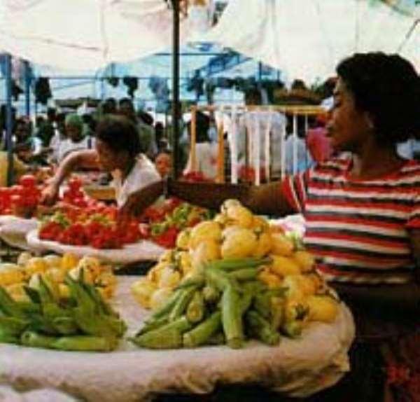 Kufuor inaugurates 2.7 billion cedis market